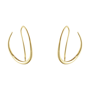 OFFSPRING earhoop 18 karat yellow gold