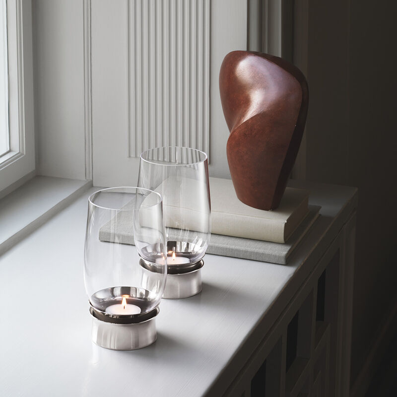 LUMIS hurricane candleholder, medium