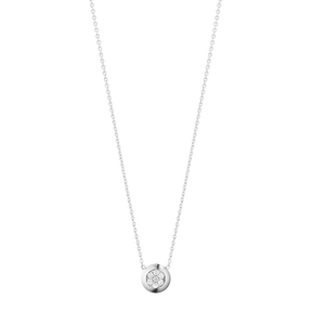 AURORA pendant - 18 kt. white gold with brilliant cut diamonds