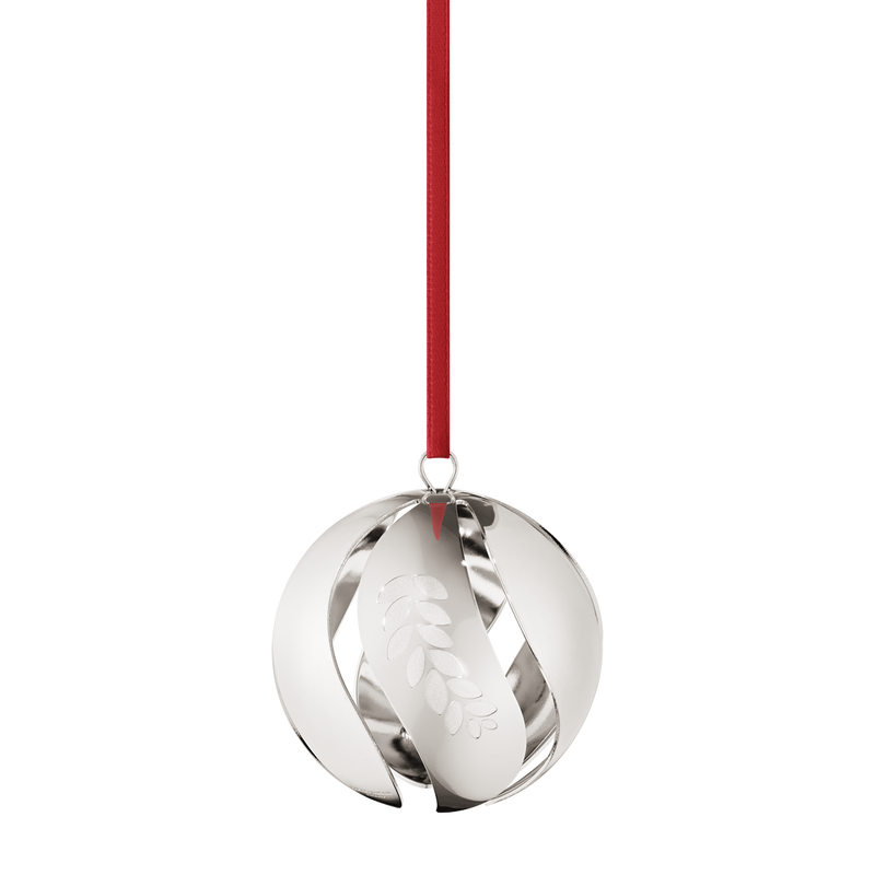 2016 Christmas Ball, palladium plated
