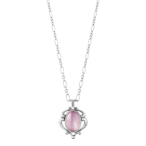 2019 HERITAGE pendant - sterling silver with lilac quartz
