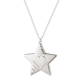 2019 Christmas ornament, Star - Palladium plated| Georg Jensen