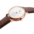 KOPPEL GRANDE DATE - 41 mm, Small seconds Automatic, 18 kr. rose gold, white dial