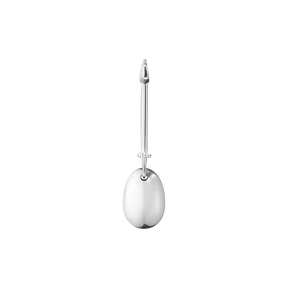 DEW DROP pendant - sterling silver with brilliant cut diamonds