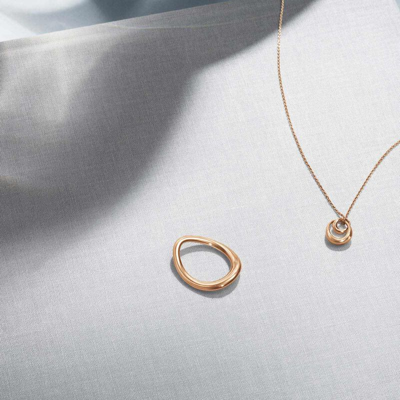 OFFSPRING pendant - 18 kt. rose gold