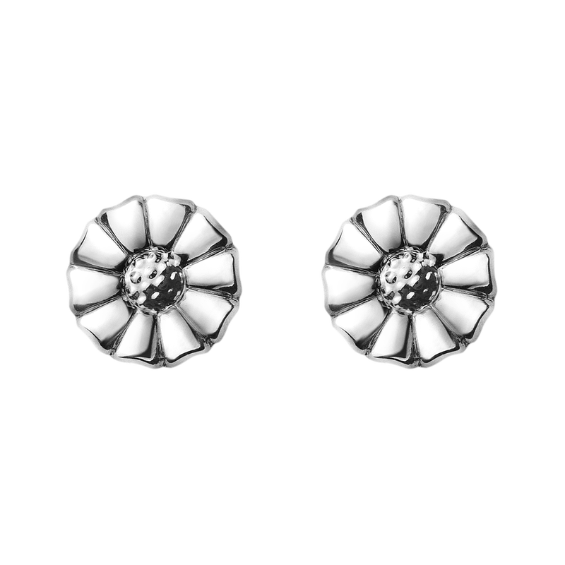 DAISY earrings - rhodinated sterling silver