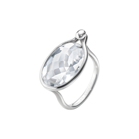 SAVANNAH Ring - Sterlingsilber mit Bergkristall