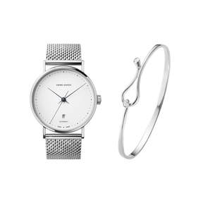 MAGIC-KOPPEL, Beautiful bangle and watch combination.