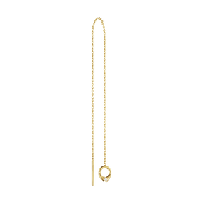 MAGIC earring - 18 kt. yellow gold with diamonds