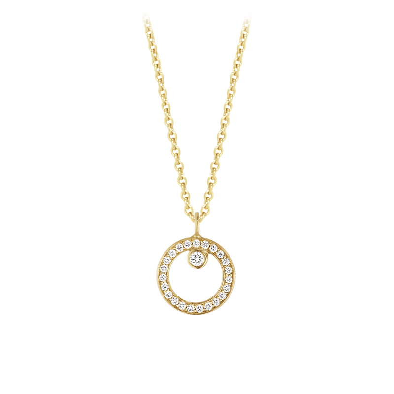 HALO necklace with pendant