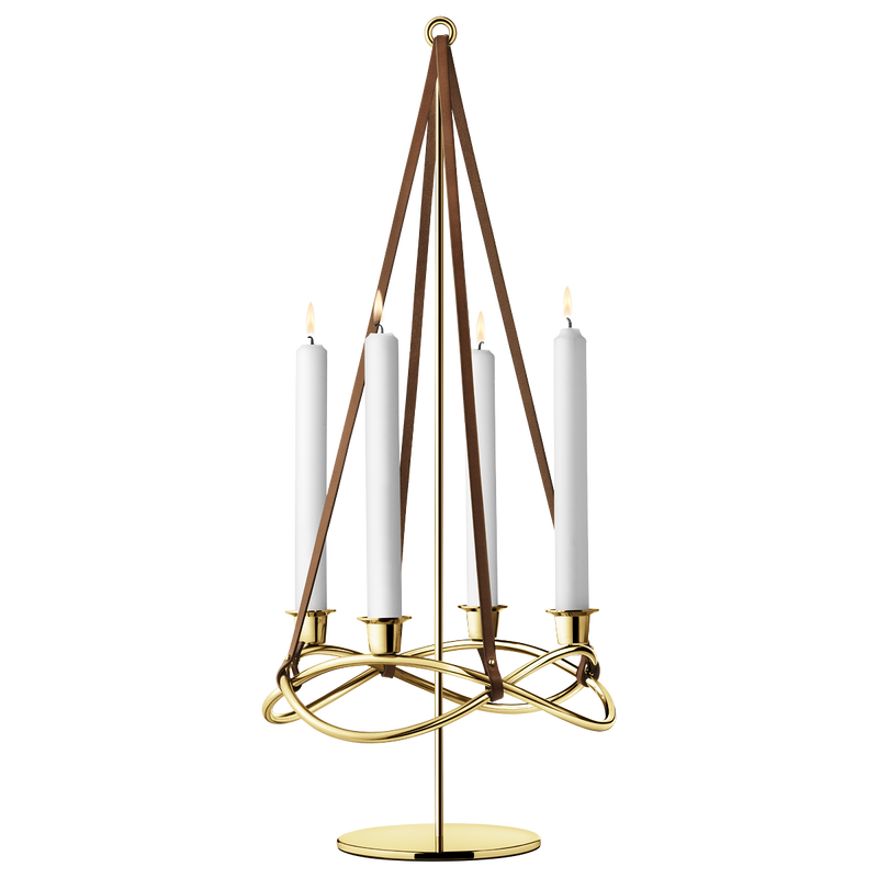 SEASON Extension for candleholder, gold plated