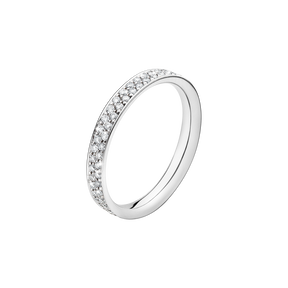 MAGIC ring - 18 kt. white gold with pavé set brilliants