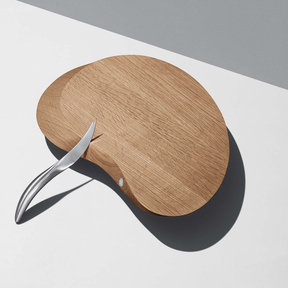 FORMA Serving board - cheese board with all round cheese knife