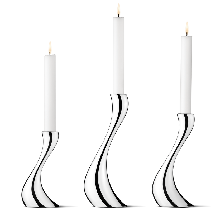 COBRA candleholder, small, medium, large