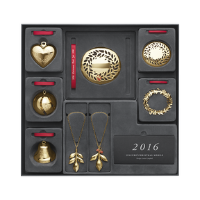 2016 Collectibles gift set, gold plated