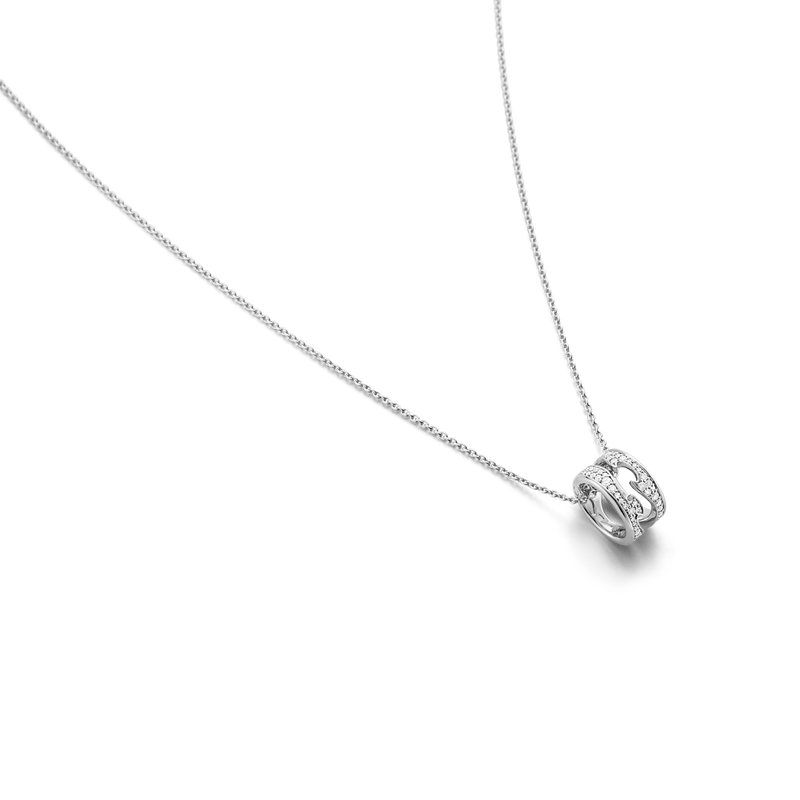 FUSION Necklace with Open Pendant