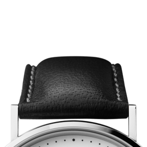 KOPPEL strap - 41 mm, black leather L