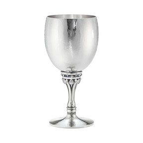 Goblet 532C, moonstone and saphire