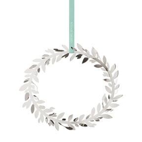 2016 Wall Wreath Magnolia Leaf, palladium plated