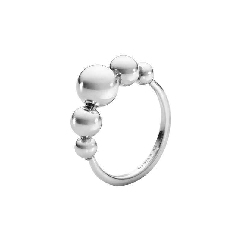 MOONLIGHT GRAPES Ring - Sterlingsilber