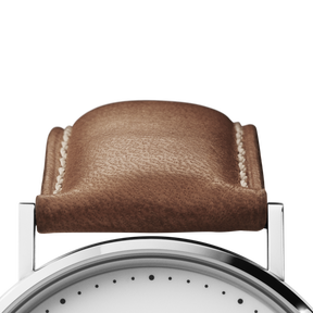 KOPPEL Strap - 41 mm, brown leather, L