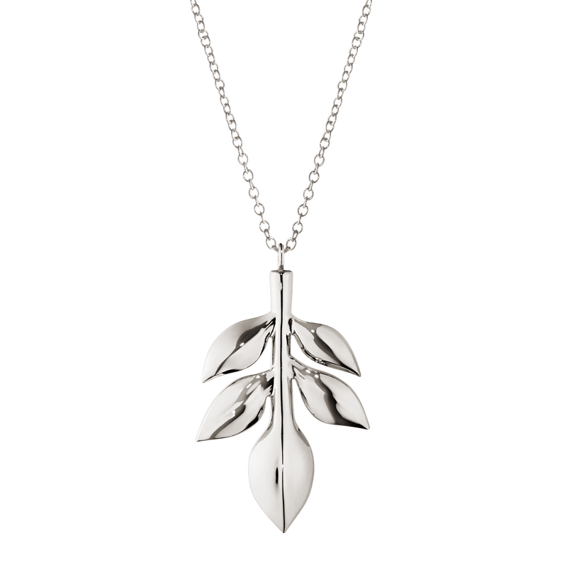 2016 Ornament Magnolia Leaf, palladium plated