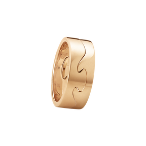 FUSION 2-piece ring - 18 kt. rose gold