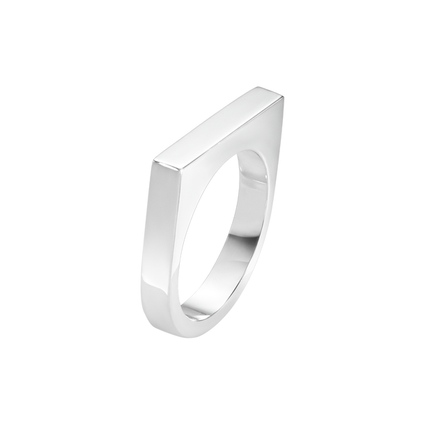 ARIA ring - slim, sterling silver