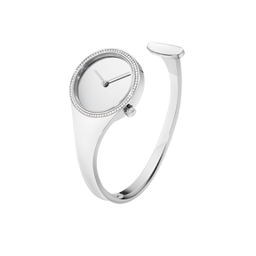 VIVIANNA - 27 mm, Quartz, mirror dial, diamond bezel