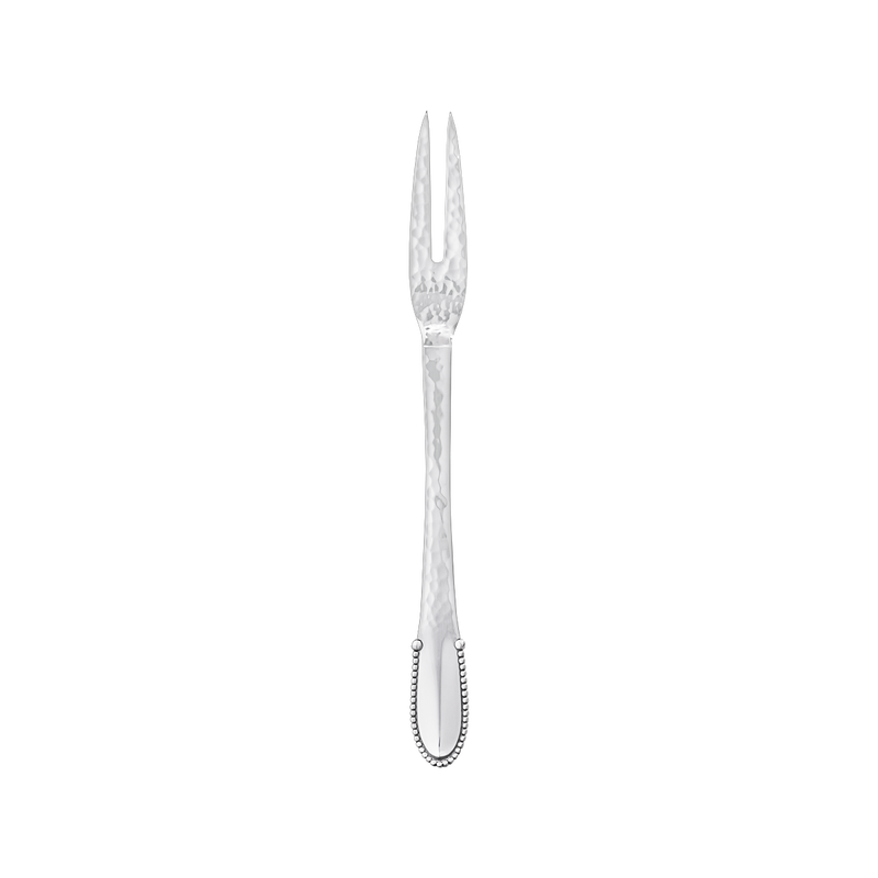 BEADED Meat fork 2 tines