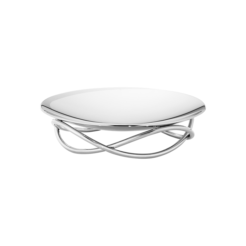 GLOW dish, medium, stainless steel