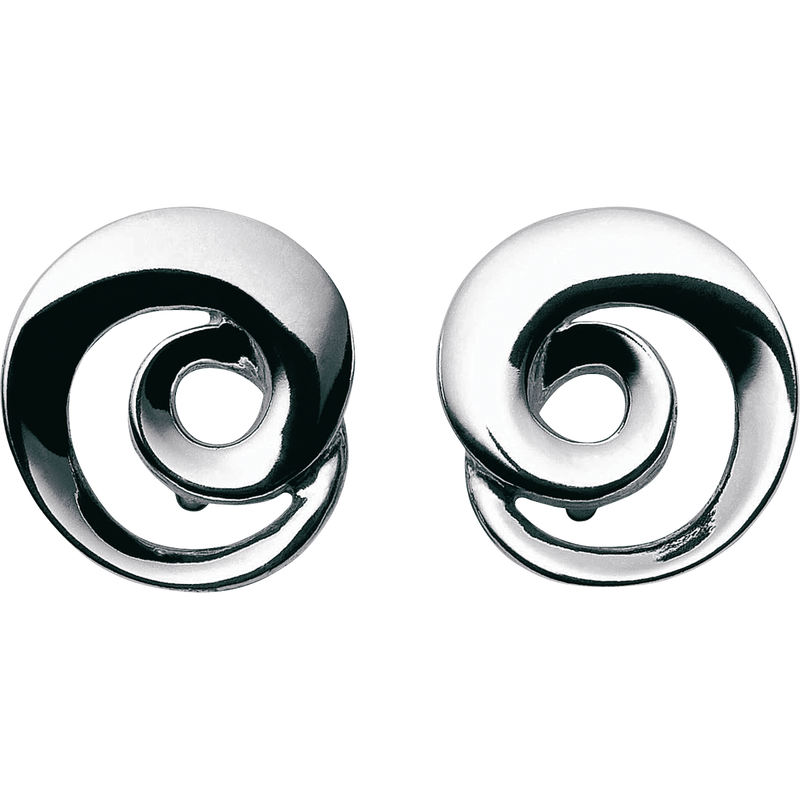 Continuity Earrings Sterling Silver