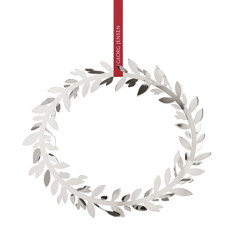 2017 wall wreath magnolia leaf, palladium plated