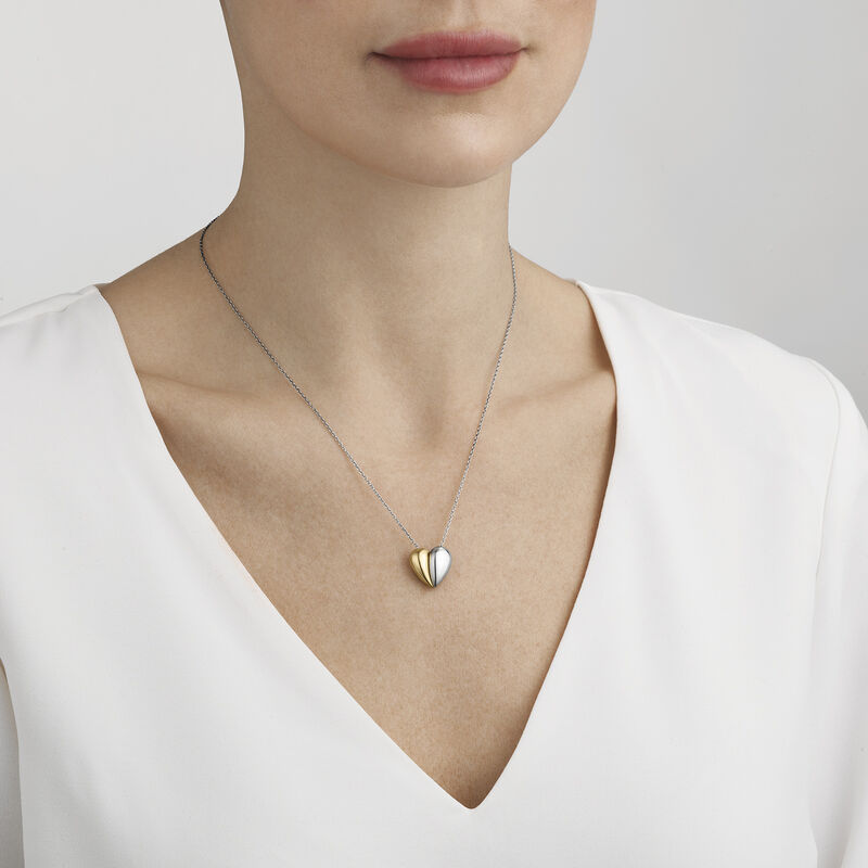 HEARTS OF GEORG JENSEN necklace with pendant