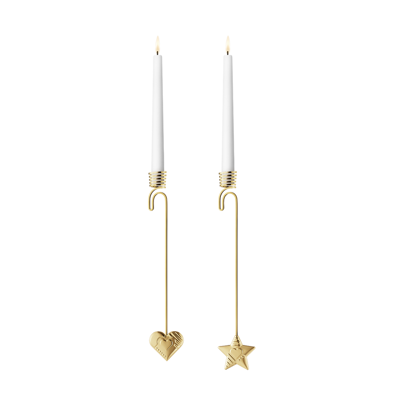 2019 Candleholder set, Heart and Star