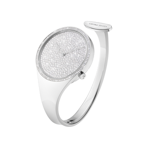 VIVIANNA - 34 mm, Quartz, pavé set diamond dial