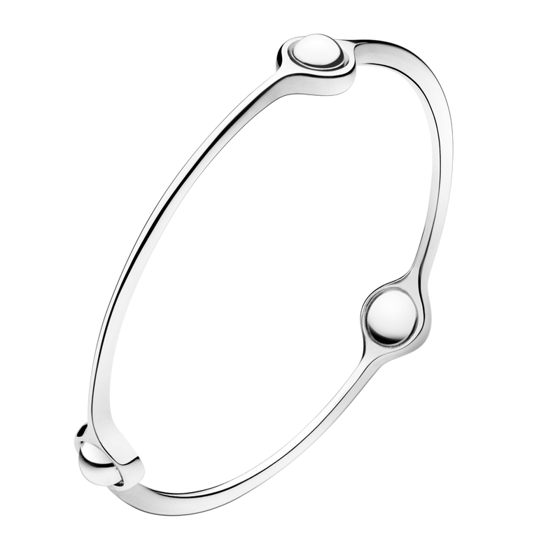 SPHERE bangle - sterling silver