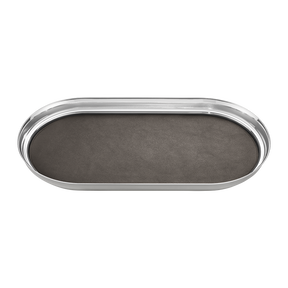 MANHATTAN tray with leather