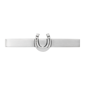 EQUESTRIAN tie bar - sterling silver