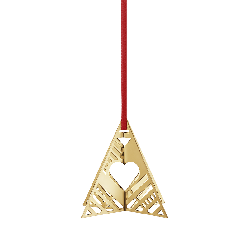 2019 Holiday Ornament, Tree - Gold Plated