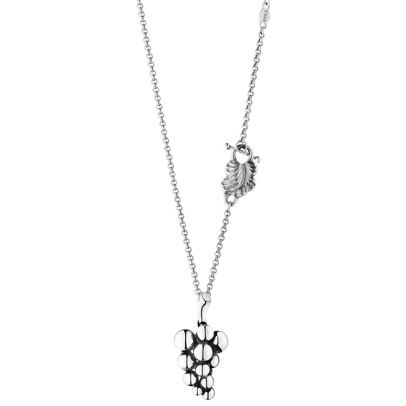 MOONLIGHT GRAPES pendant - sterling silver, small