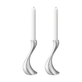 COBRA Candleholder set, medium, matte