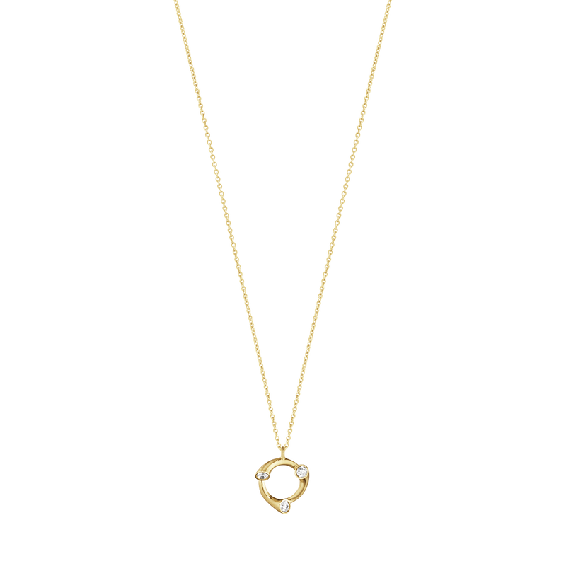 MAGIC pendant - 18 kt. yellow gold with diamonds