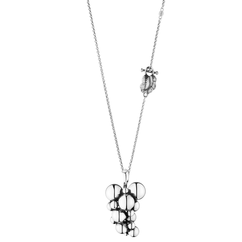 MOONLIGHT GRAPES pendant - sterling silver, large