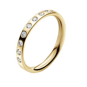 MAGIC ring - 18 kt. gold with brilliants