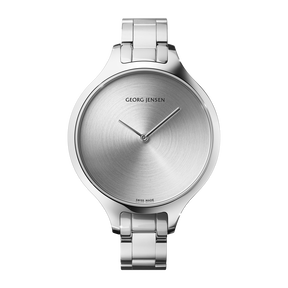 CONCAVE - 39 mm, Quartz, sunray dial, steel bracelet
