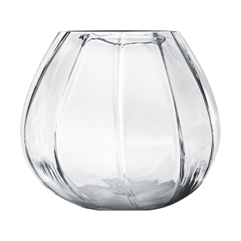 FACET Glass Vase, small