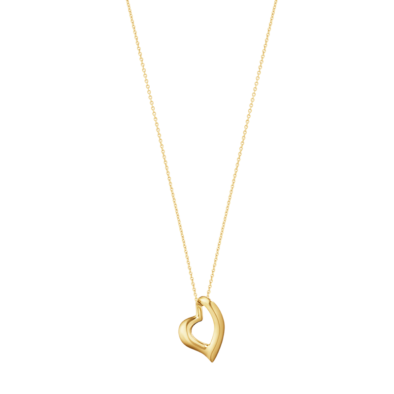 HEARTS OF GEORG JENSEN pendant - 18 kt. yellow gold