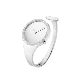 VIVIANNA - 34 mm, Quartz, mirror dial, diamond bezel