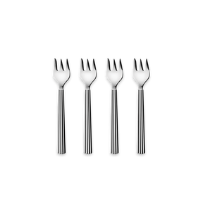 BERNADOTTE cake fork giftbox, 4 pcs - stainless steel